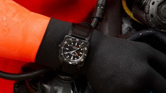 BR 03-92 Diver Black Matte Trends and style
