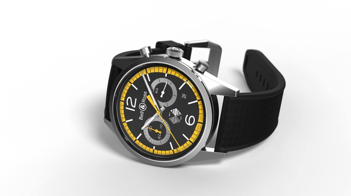 Bell & Ross - BR 126 Renault Sport 40th Anniversary