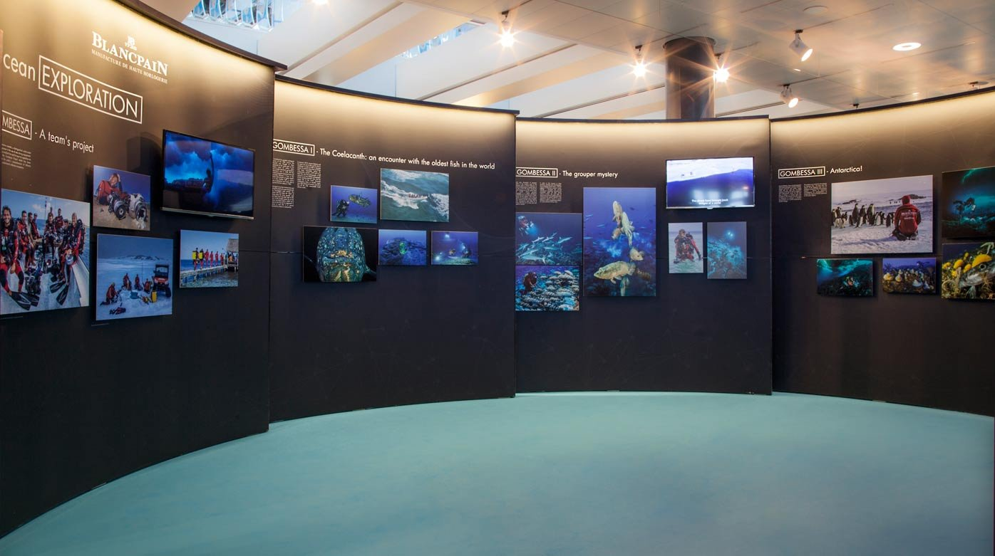 Blancpain - Blancpain Ocean Commitment exhibition in Zurich