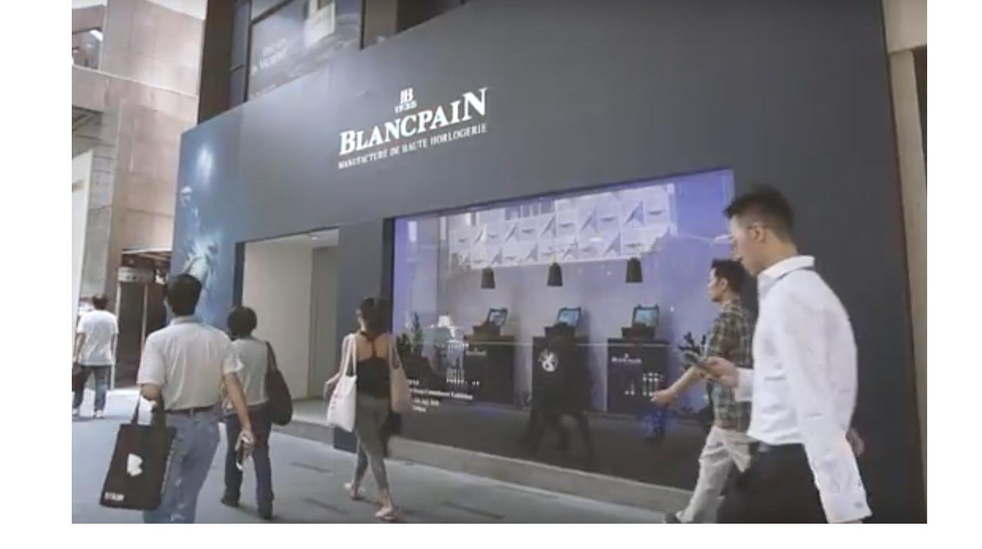 Blancpain - Pop-up exhibition in Hong Kong