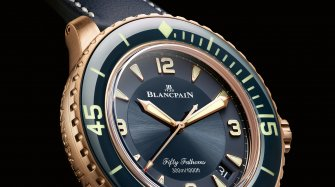 The new Fifty Fathoms Automatic