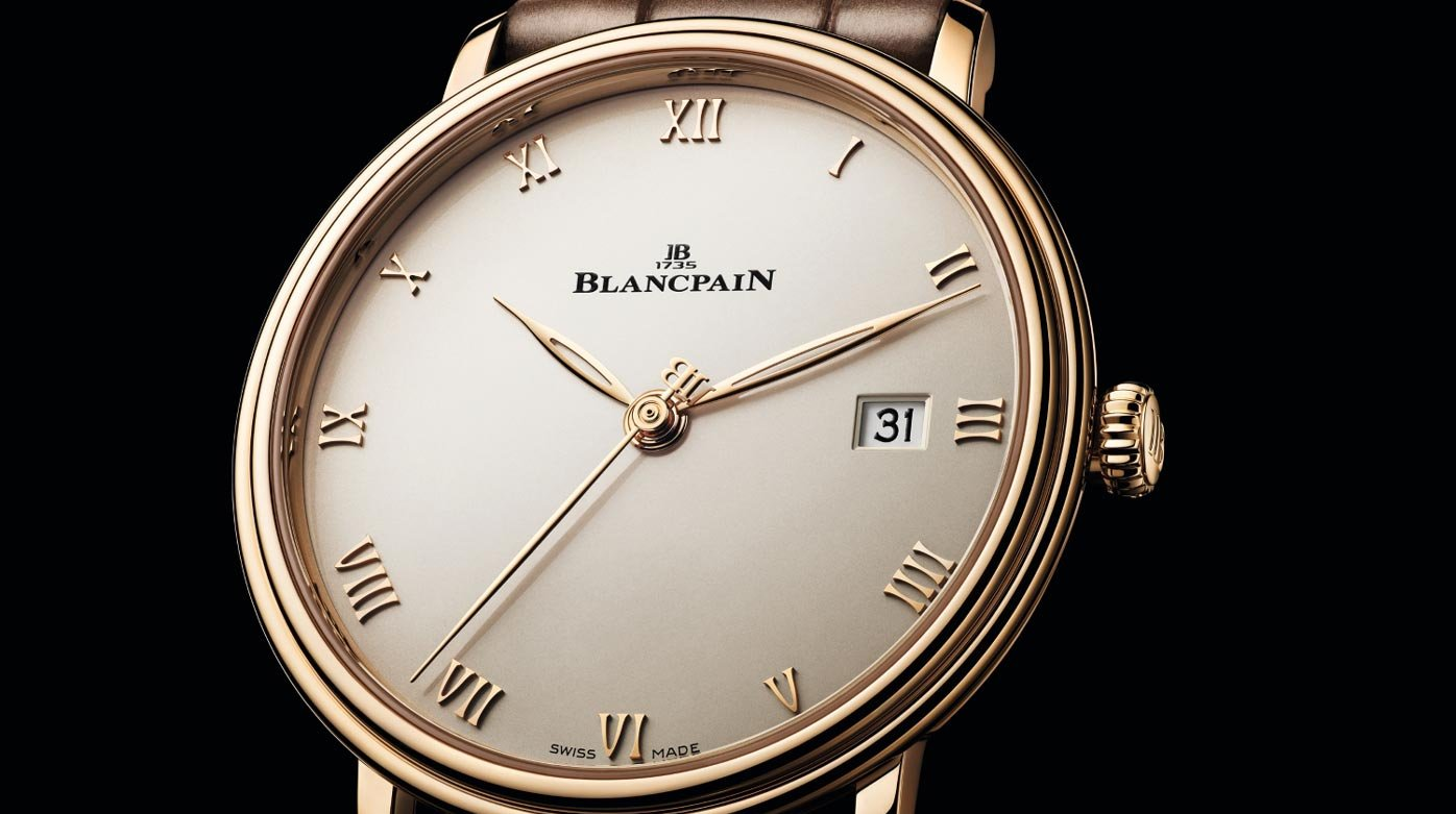 Blancpain - The Villeret Ultraplate, resolutely in tune with the times