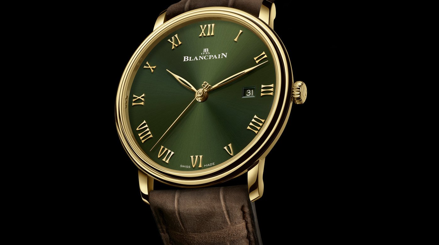 Blancpain - New Villeret Extraplate Boutique edition