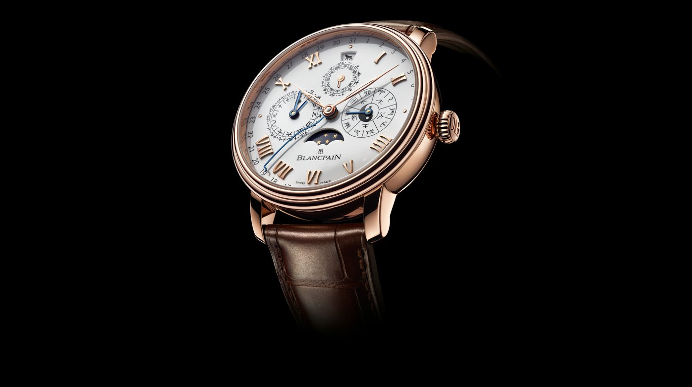 Blancpain - Villeret Calendrier Chinois Traditionnel