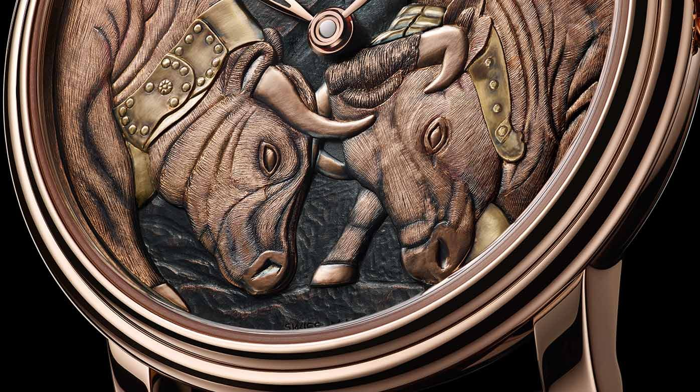 Blancpain - Cow fight at the Villeret corral