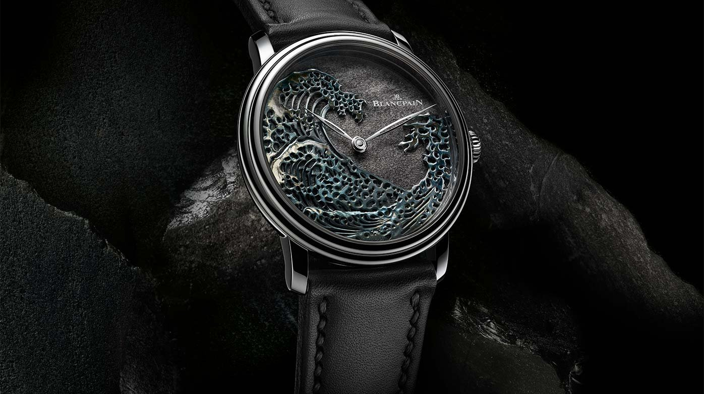 Blancpain - Artistic crafts ride the wave