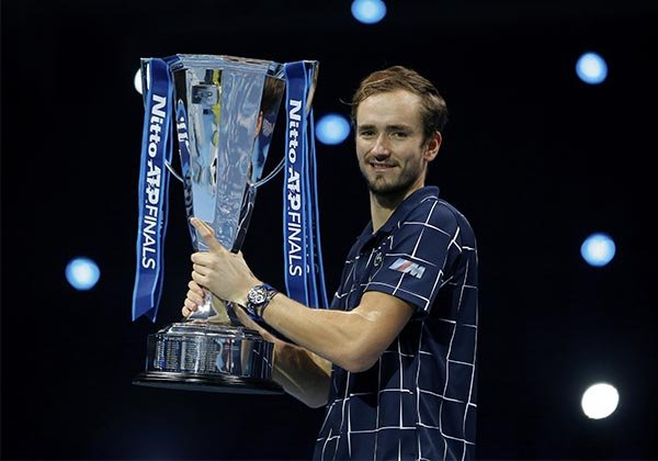 Talking tennis and watches with Daniil Medvedev