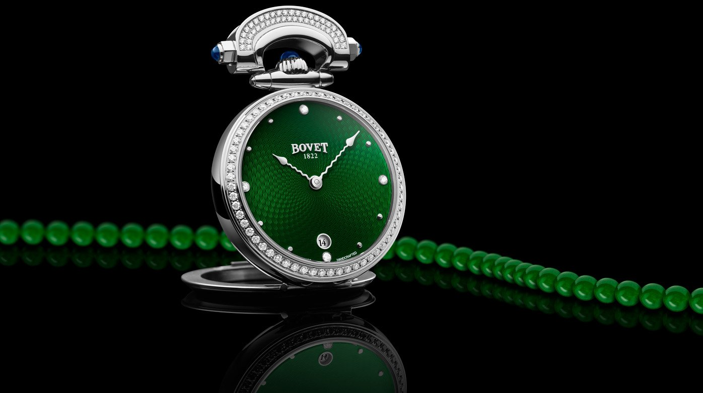 Bovet 1822 - Green is the 2020 color of the year