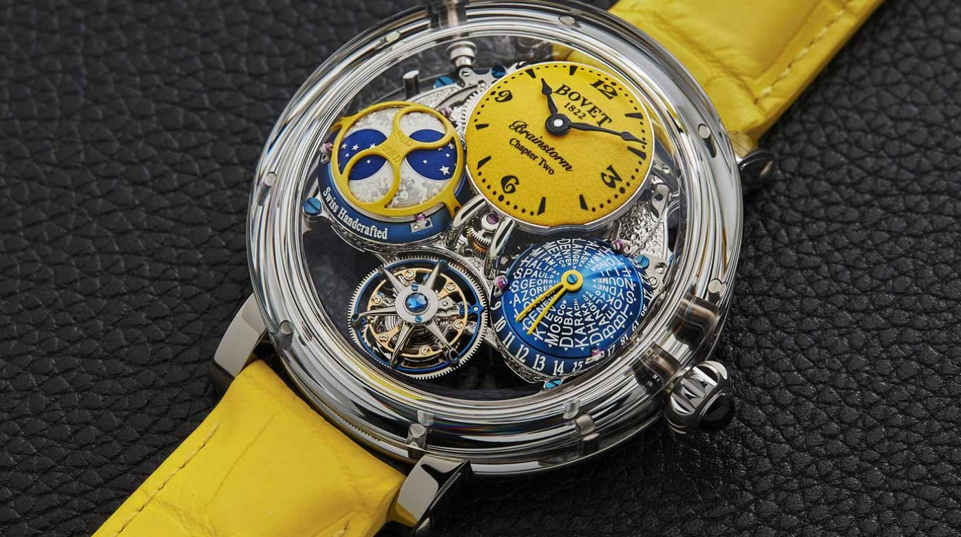 Bovet 1822 - Récital 26 Brainstorm® Chapter Two Sunshine Collection