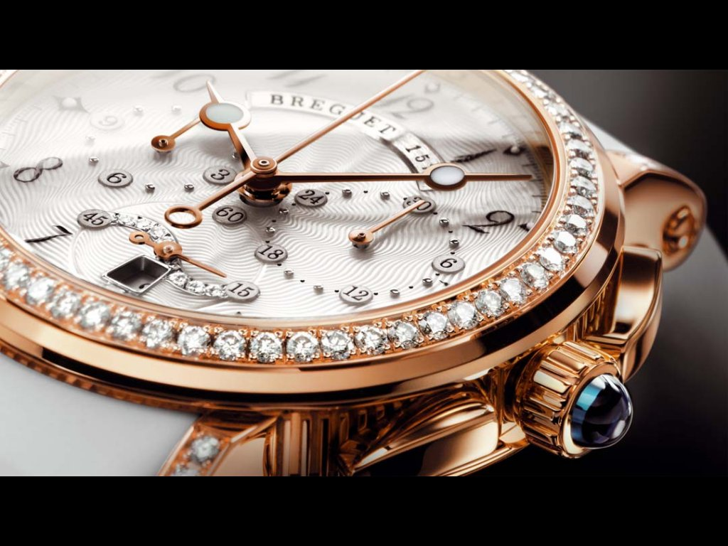 Breguet - The art of engine turning