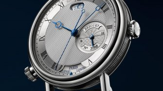 Breguet 5727 Hora Mundi, Here and there, and vice versa