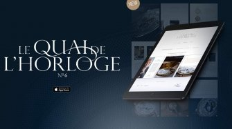 The « Le Quai de l'Horloge N°6 » on iPad Brands