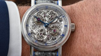 The dance of the tourbillon Trends and style