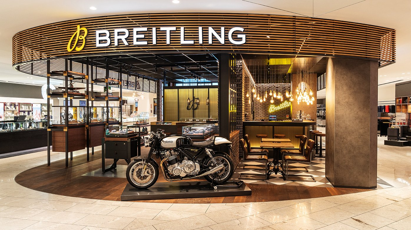 Breitling - Opening of a new boutique in Jelmoli