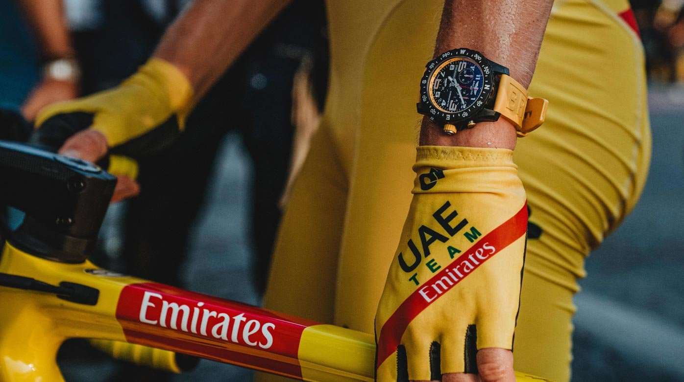 Breitling - A Win-Win Partnership Between The Brand And Tadej Pogačar