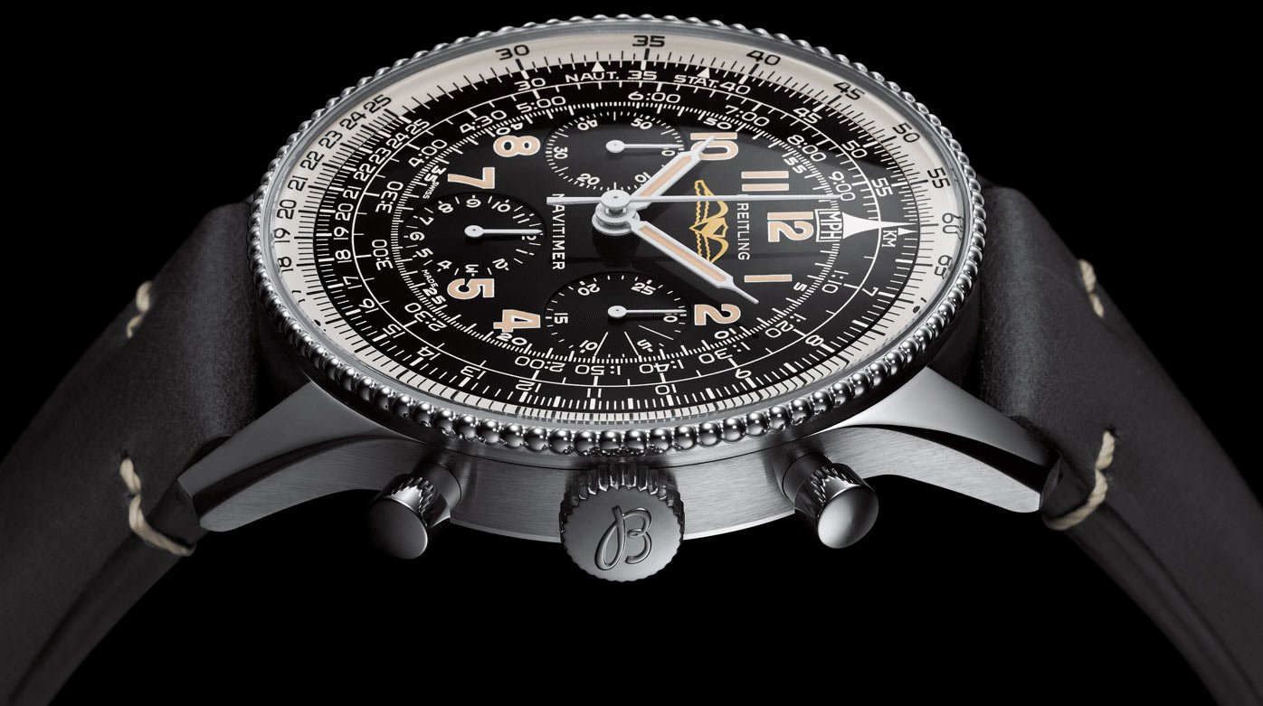 Breitling - Fidèle compagnon: Breitling Navitimer Re-edition