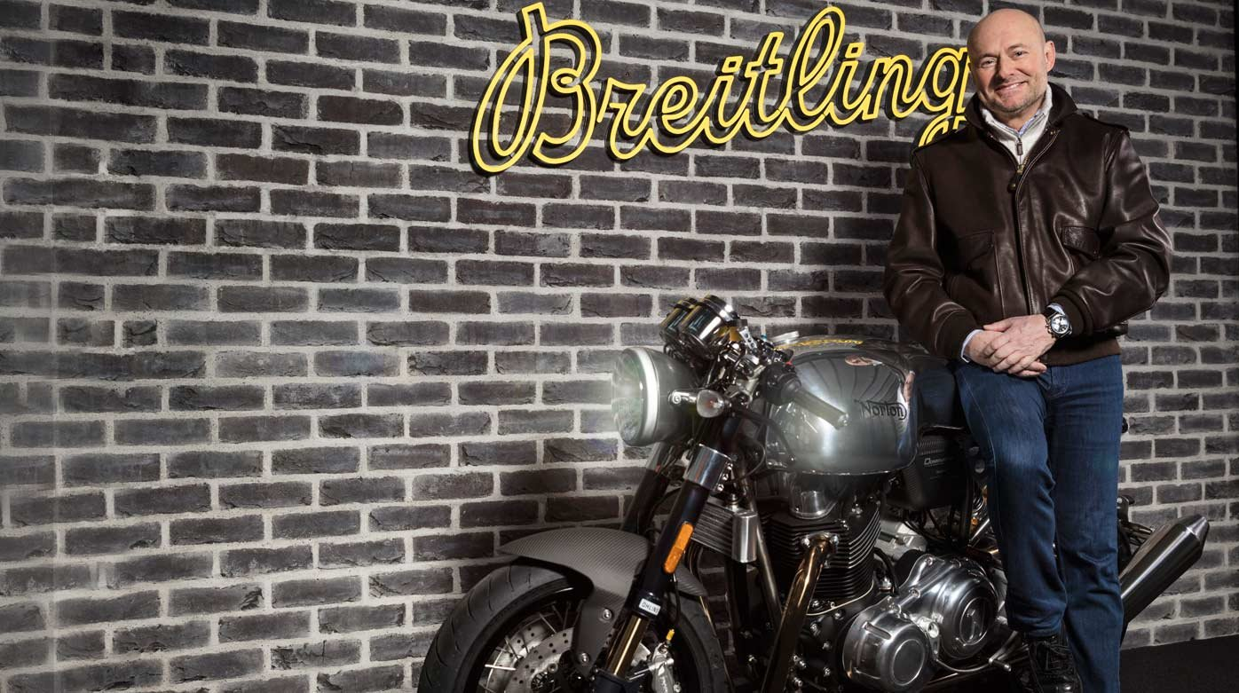 Breitling - Partnership with Norton Motorcycles