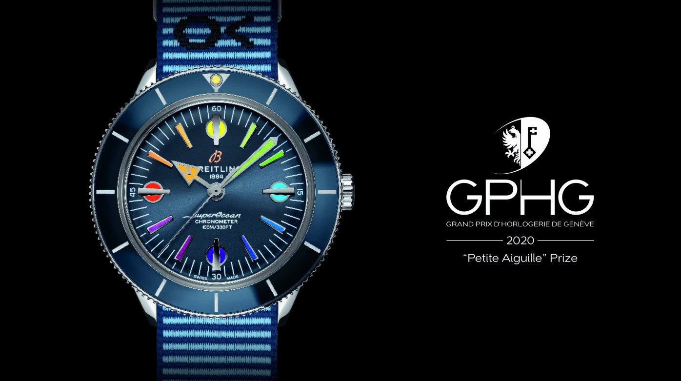 Breitling - Two prizes at the Grand Prix d'Horlogerie de Genève