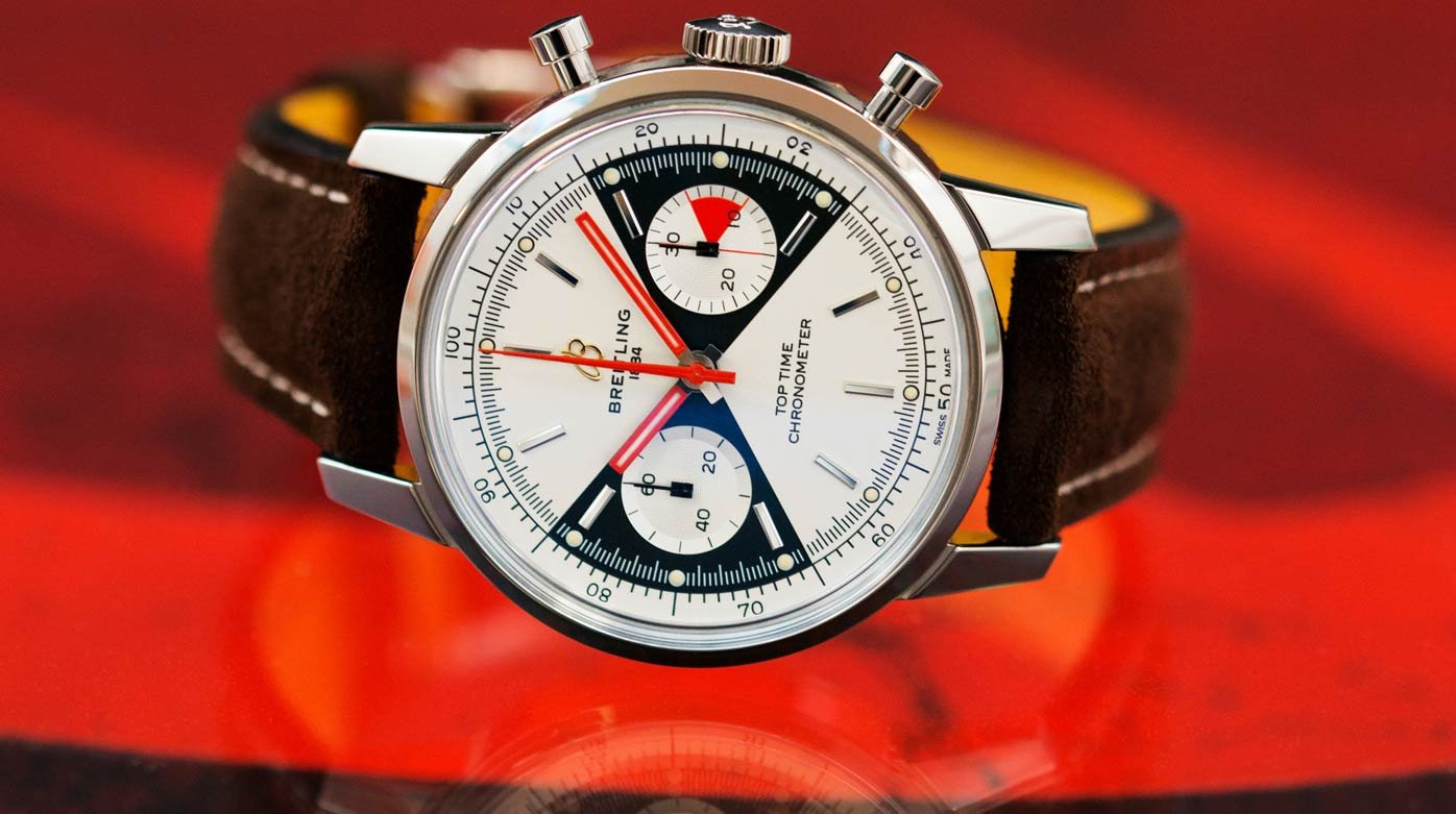 Breitling - The return of the Top Time