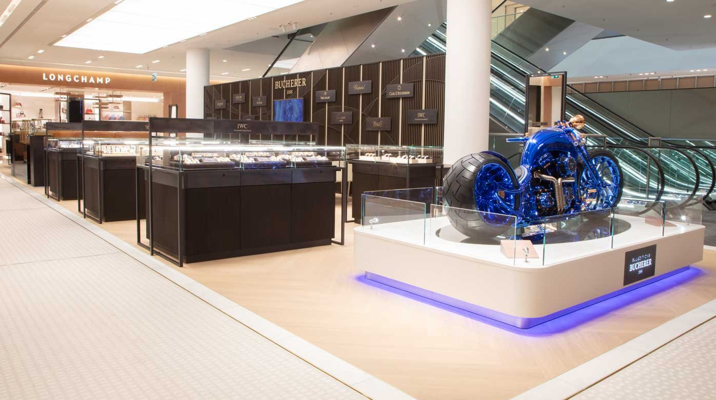 Bucherer - Opening of a boutique in the Oberpollinger department store