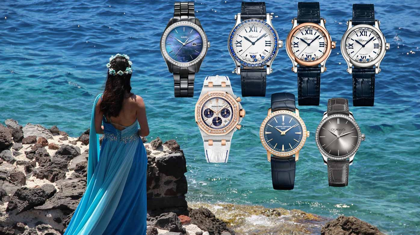 Bucherer - Blue is not just for boys...