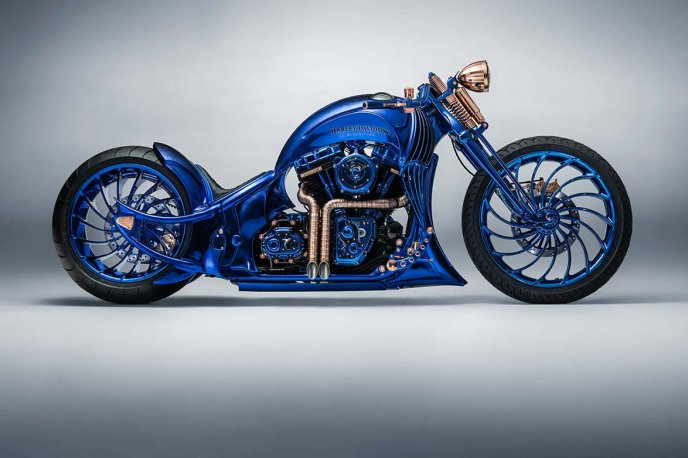 Harley-Davidson Blue Edition Innovation and technology