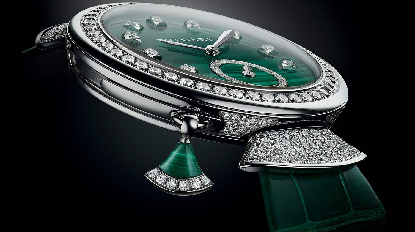 Bulgari - Divas' Dream Finissima Répétition Minutes Malachite