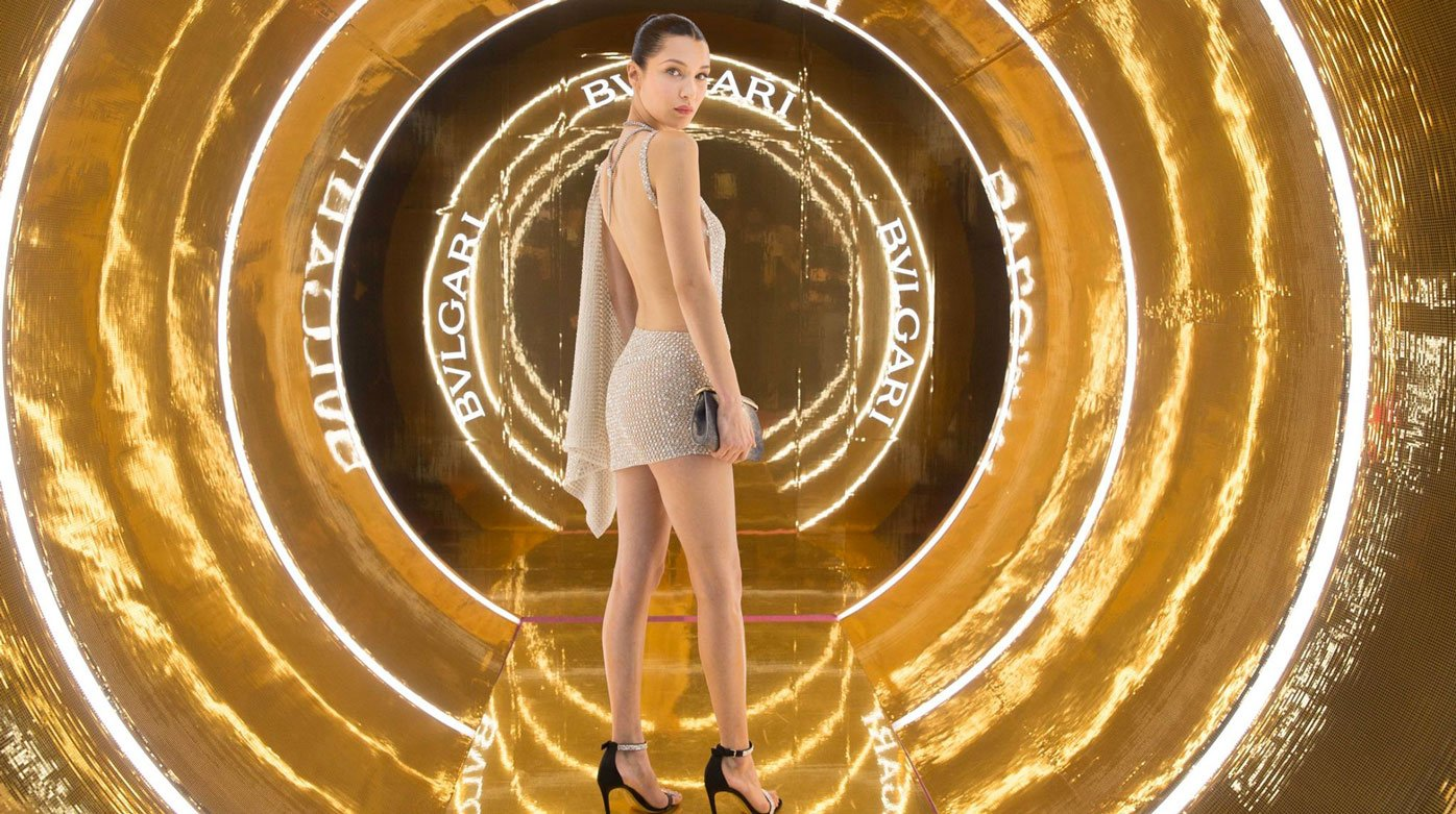 Bulgari - Bella Hadid, new face of Bulgari