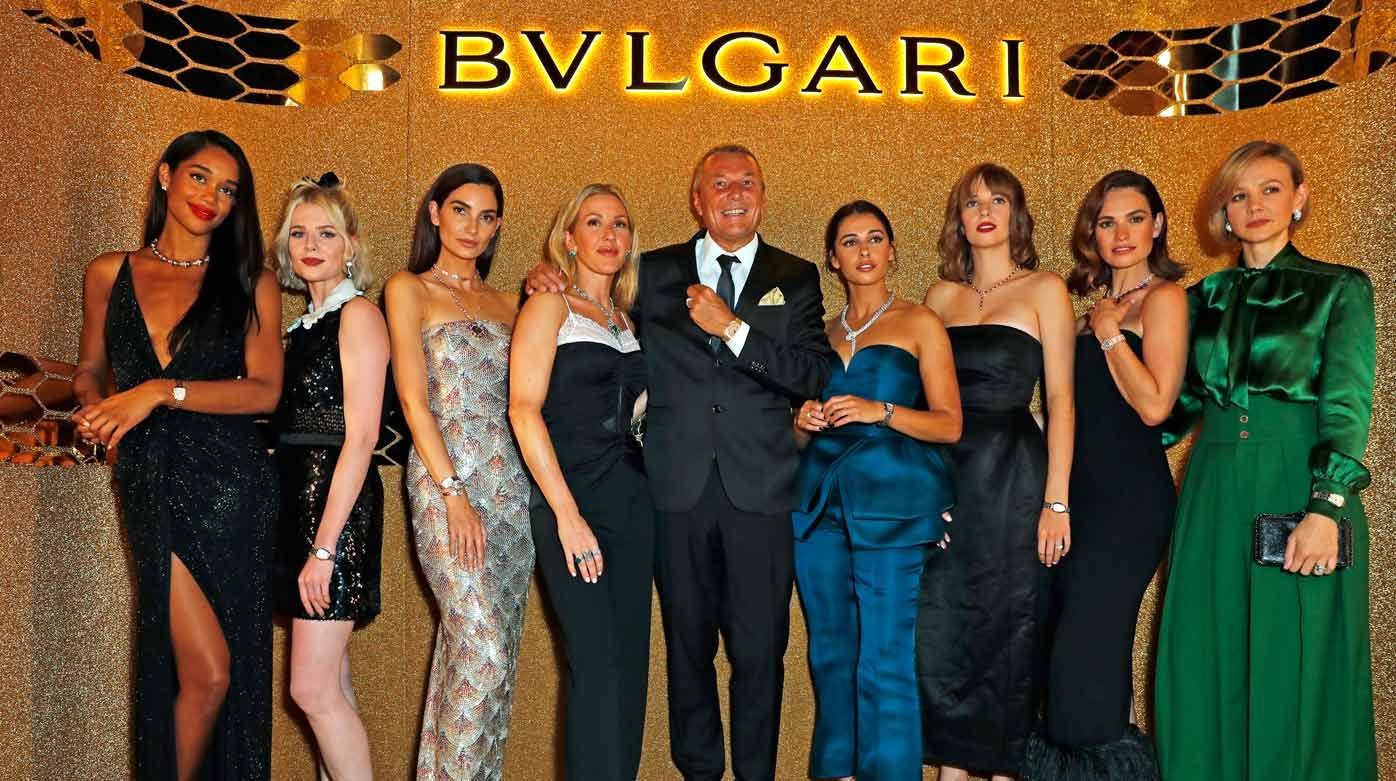 Bulgari - La Serpenti Seduttori séduit la Fashion Week de Londres