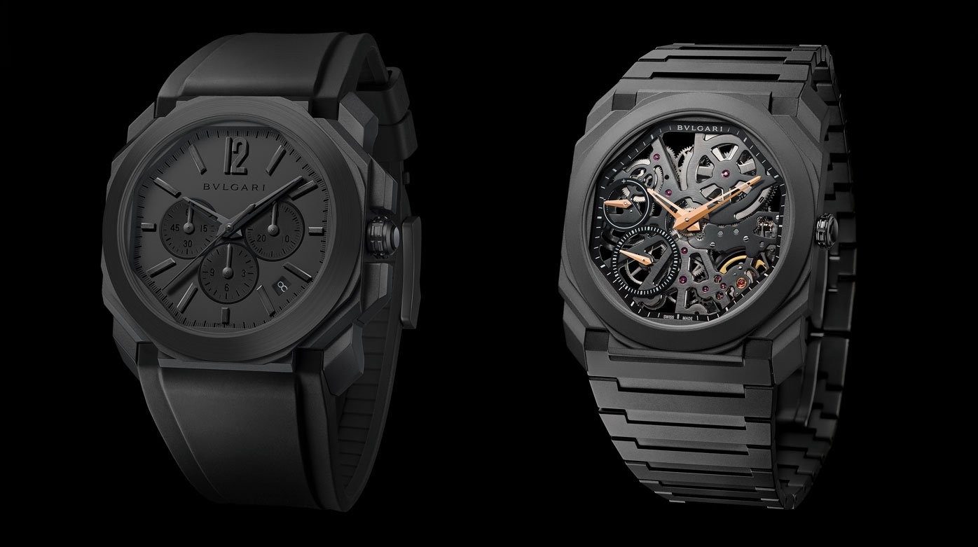 Bulgari - Octo Black Editions