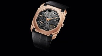 Octo Finissimo Skeleton Sandblasted Trends and style