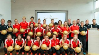 The Swiss Women's National Football at the manufacture Brands