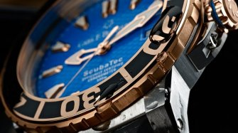 Patravi ScubaTec, steel and rose gold Trends and style