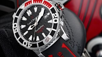 Patravi ScubaTec ASF, the watch of the Swiss National Football Team