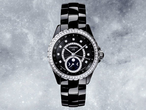 Chanel - J12 Moonphase, noire