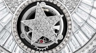 J12 Tourbillon Volant en or blanc 18 carats et diamants Style & Tendance