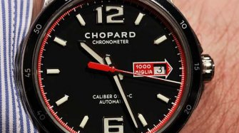 Chopard as official timekeeper of the Mille Miglia