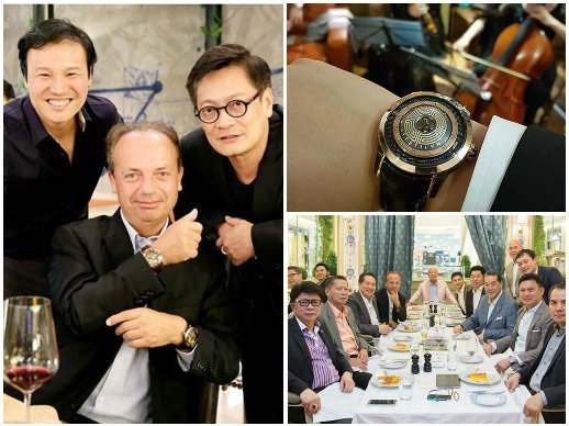 Christophe Claret - Collectors' encounter in Vietnam and in Thailand