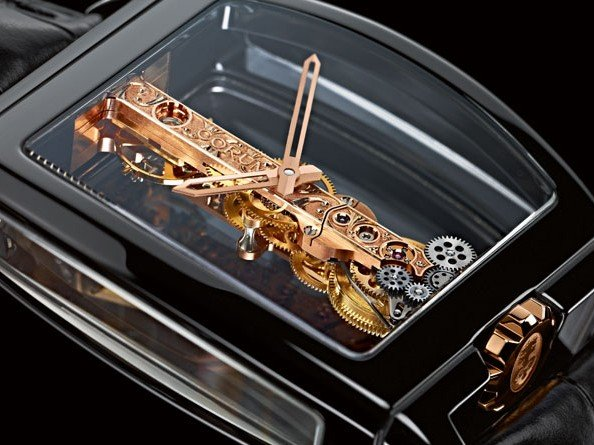 Corum - Ceramic Golden Bridge