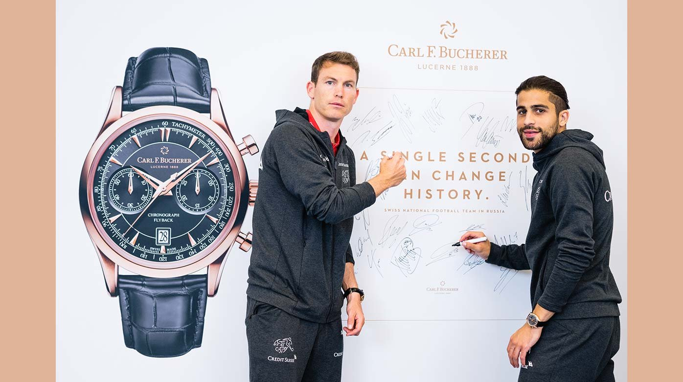 Carl F. Bucherer - To the World Cup in Russia with the Swiss team