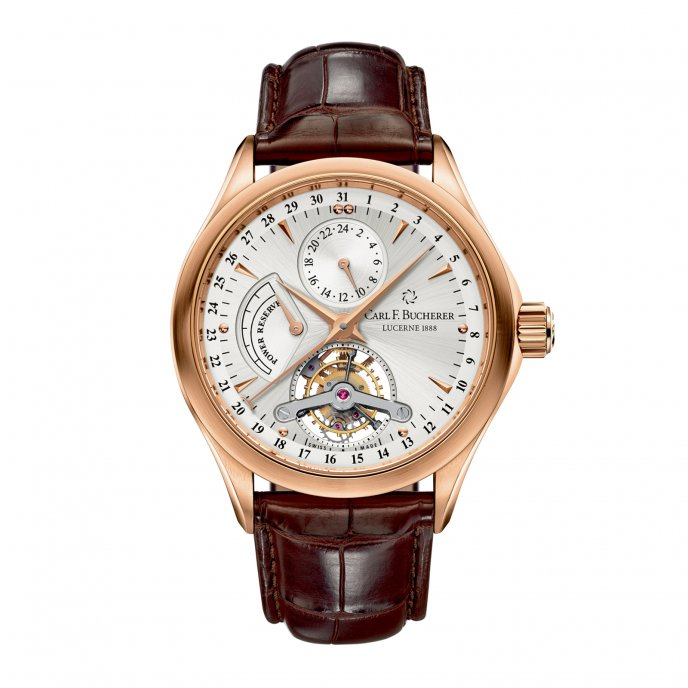 Carl F Bucherer Manero Tourbillon 00.10918.03.13.01 Watch-face-view