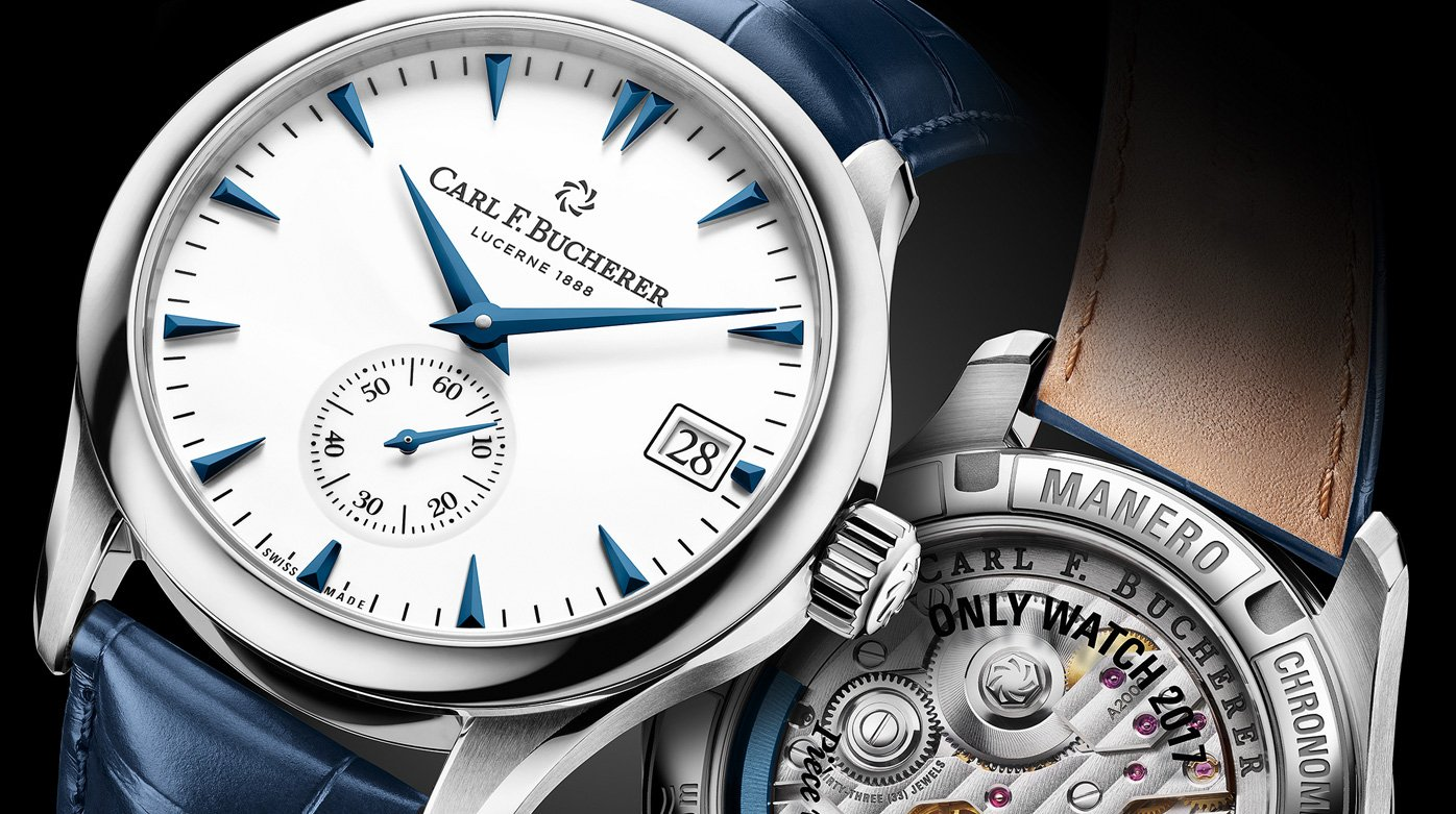 Carl F. Bucherer - Manero Peripheral pour Only Watch 2017