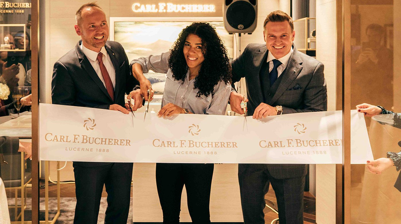 Carl F.Bucherer  - Interlaken's store in a new guise