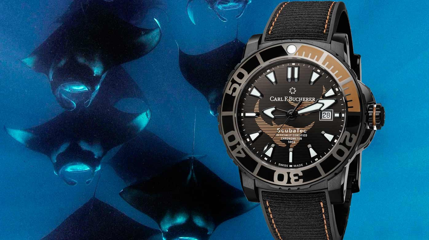 Carl F. Bucherer - Lancement de la Patravi ScubaTec Black Manta Special Edition