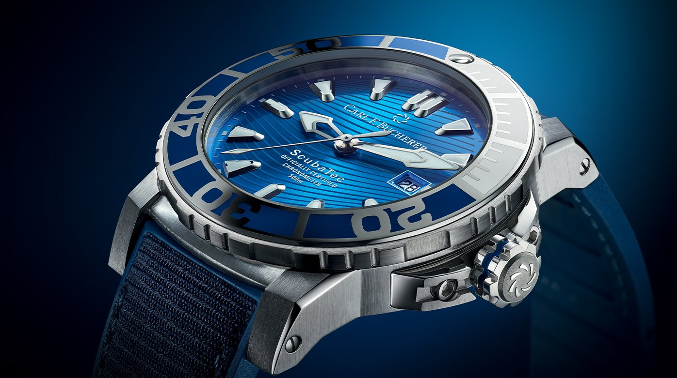 Carl F. Bucherer - Taking to the Water with the New Patravi Scubatec Maldives