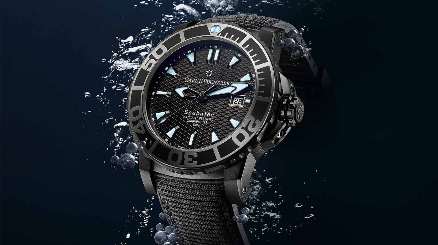 Carl F. Bucherer - In deep waters, with style