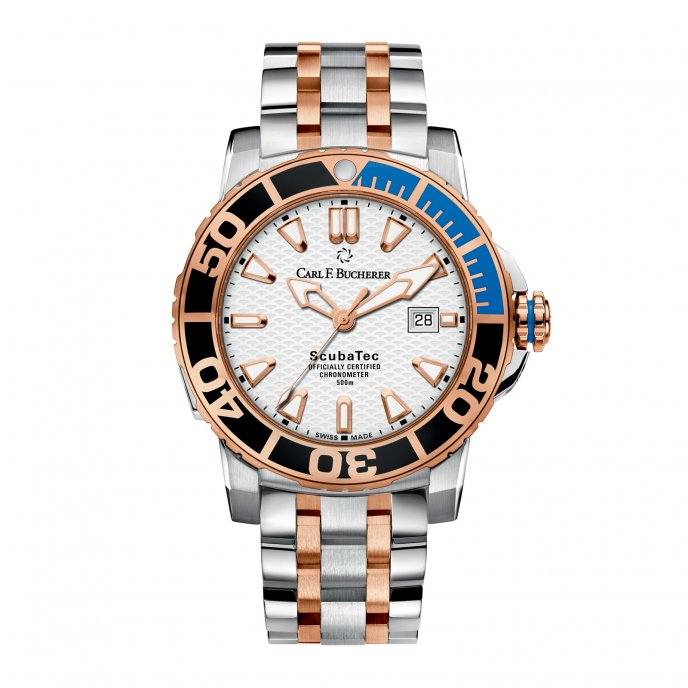 Carl F Bucherer Patravi Scubatec 00.10632.24.23.21 Watch-face-view