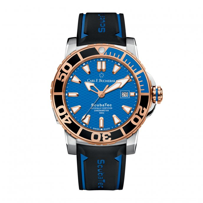 Carl F Bucherer Patravi Scubatec 00.10632.24.53.01 Watch-face-view
