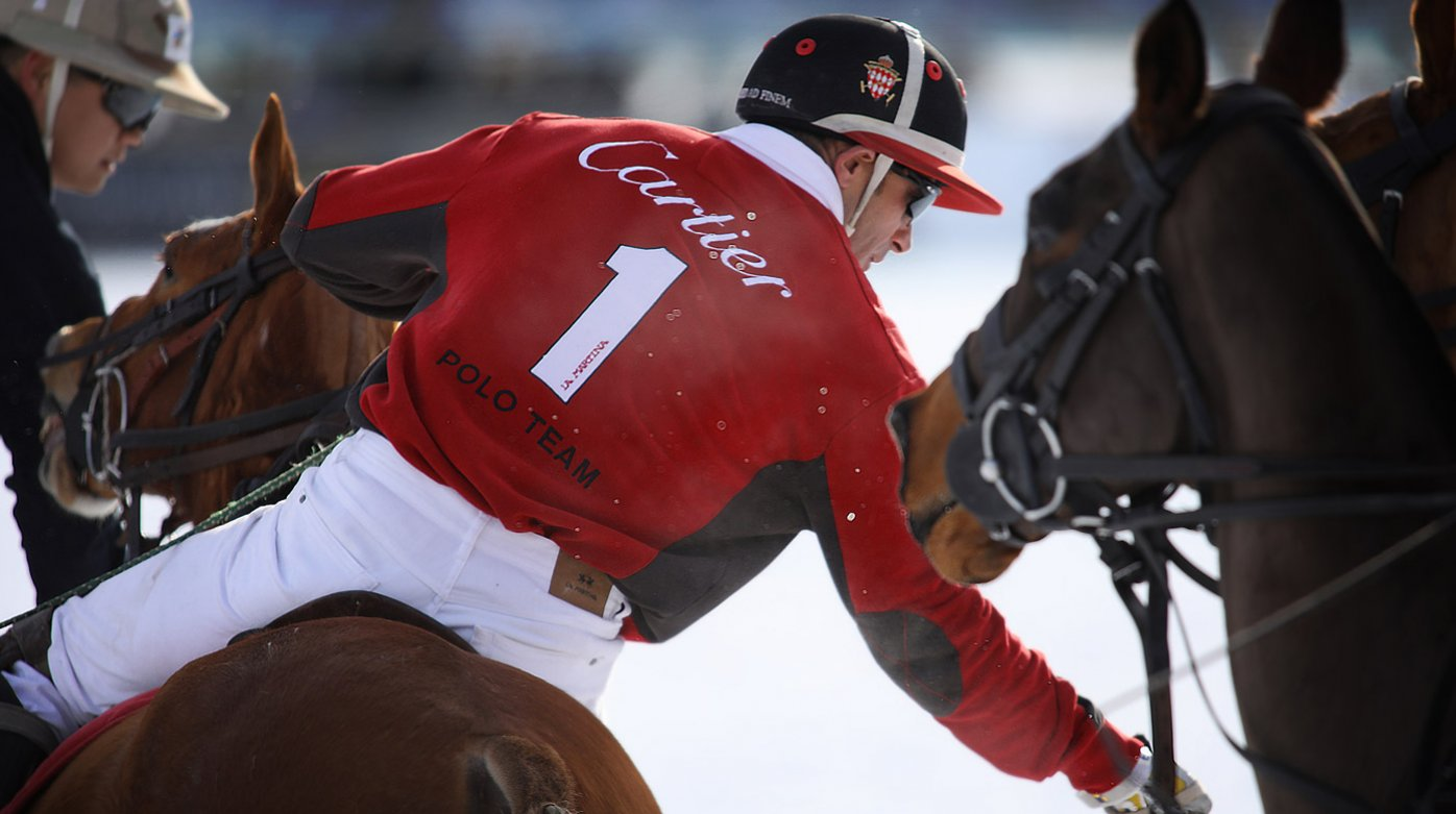 Cartier - 33e édition du St Moritz Polo World Cup on Snow