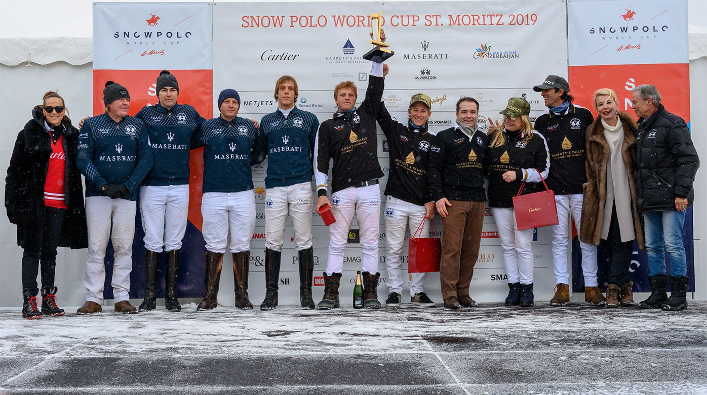 "Cartier - 35th edition of the ""Snow Polo World Cup St. Moritz"""